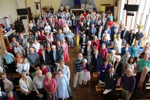 Photo of people in Church