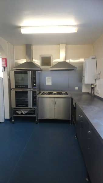 Hall Kitchen Cooker